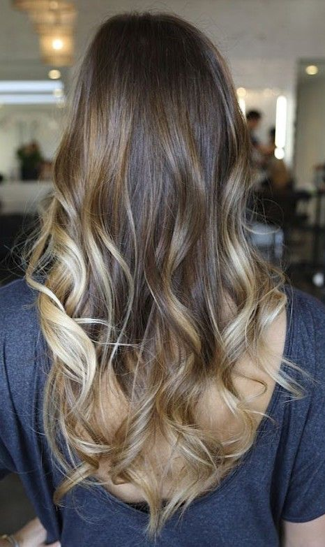 Ombre Hair Trends 2014 Most Popular One Luzes Cabelo Ombre