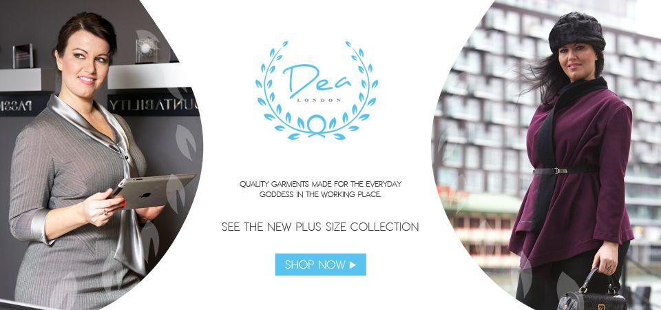 Ladies you told us how difficult it was to find plus size work wear, and so we decided to do something about it.  We are delighted to bring you plus size business wear for women by Dea London. http://www.pinstripeandpearls.com/women/plus-size-work-wear