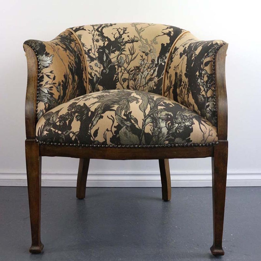 NEW PIECE OF FURNITURE * Branch Railroad Tub Chair is now available ...