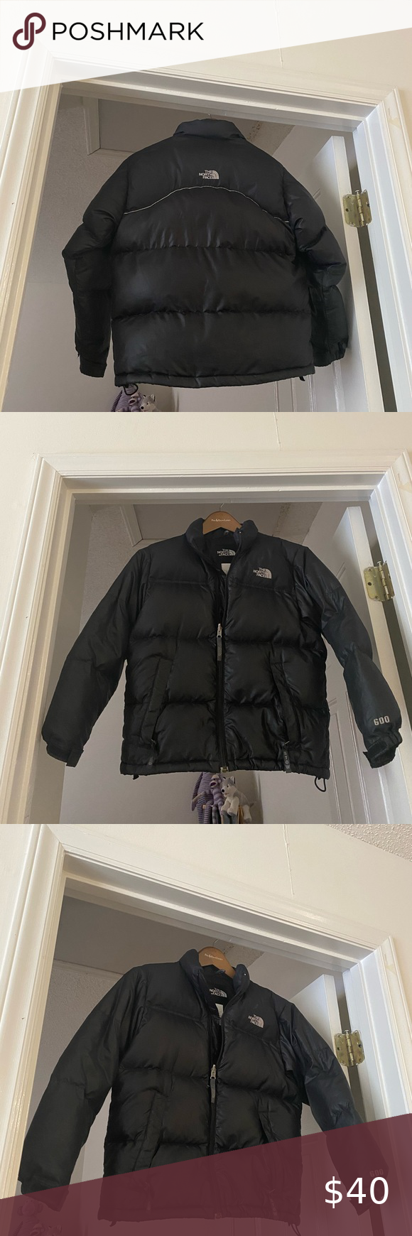 North Face Down Jacket Down Jacket Jackets Black North Face [ 1740 x 580 Pixel ]