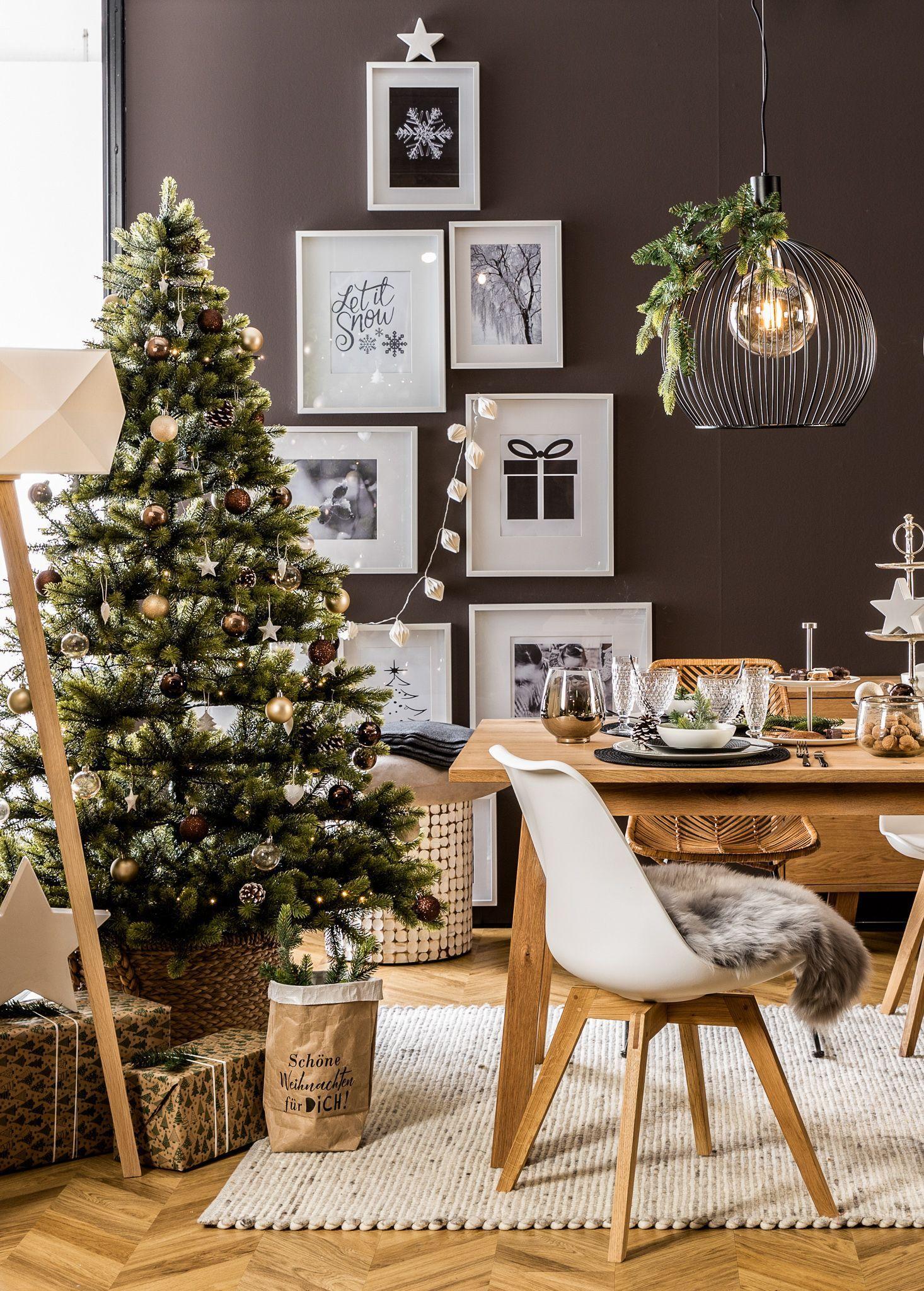 Kugelvase Erwartung (50cm) | Weihnachten dekoration