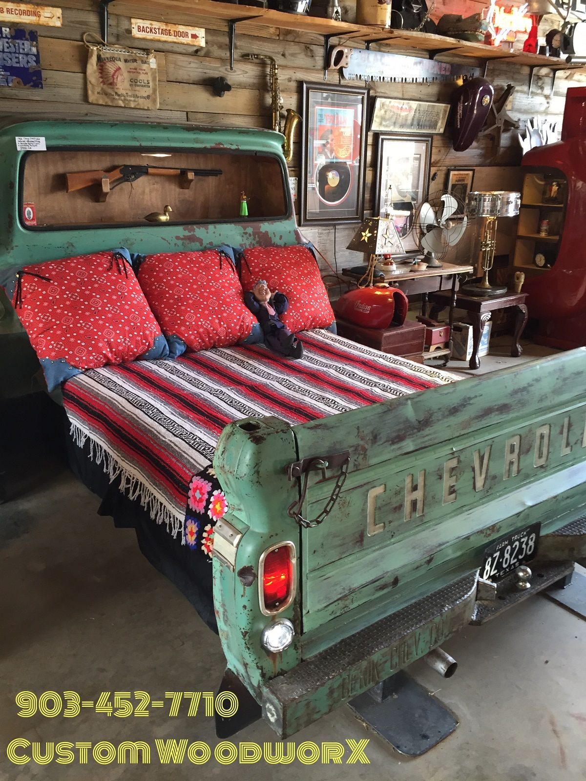 Truck Bed Bedroom: 1965 Chevy C-10 Truck Bed Chevy Truck Bed Shelf Unit