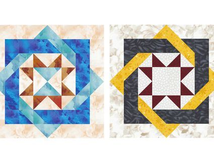 Browse a Selection of Free 10-Inch Patchwork Quilt Block Patterns : 10 inch quilt blocks free - Adamdwight.com