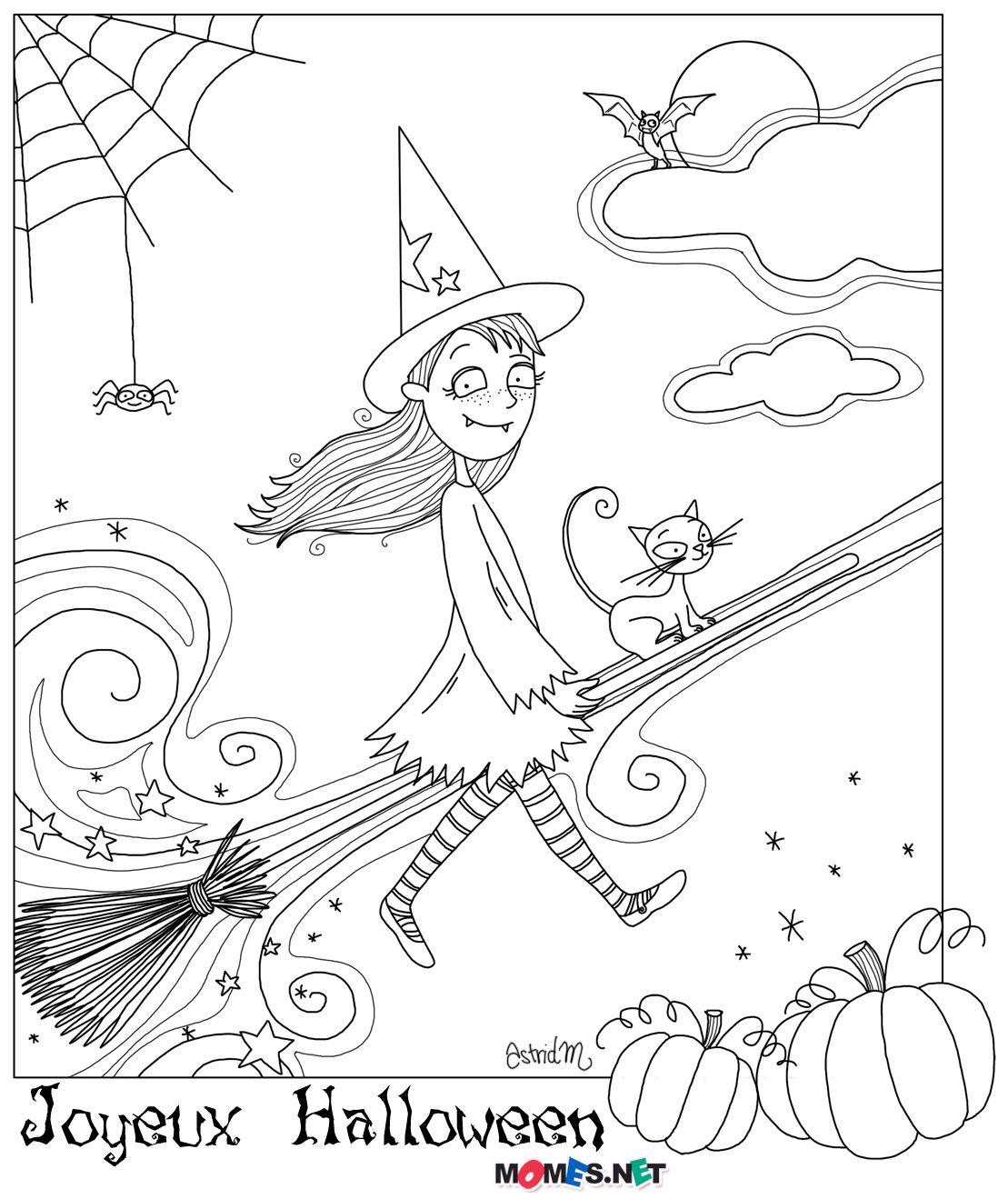 Halloween!   Halloween   Pinterest   Brujas, Halloween y Colorear