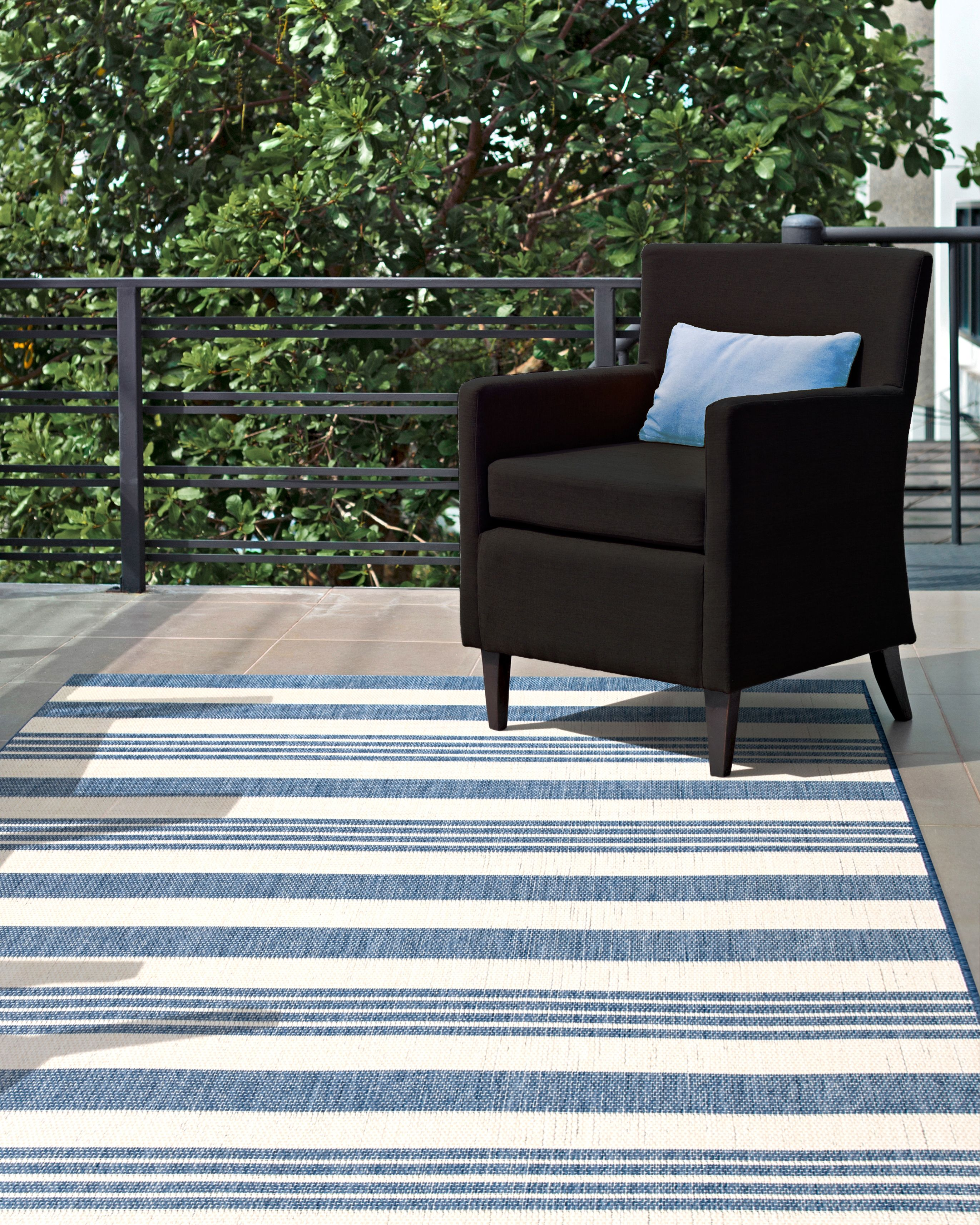 Aperto Regency Stripes Outdoor Rug Rugs Usa Upstate Pieces In