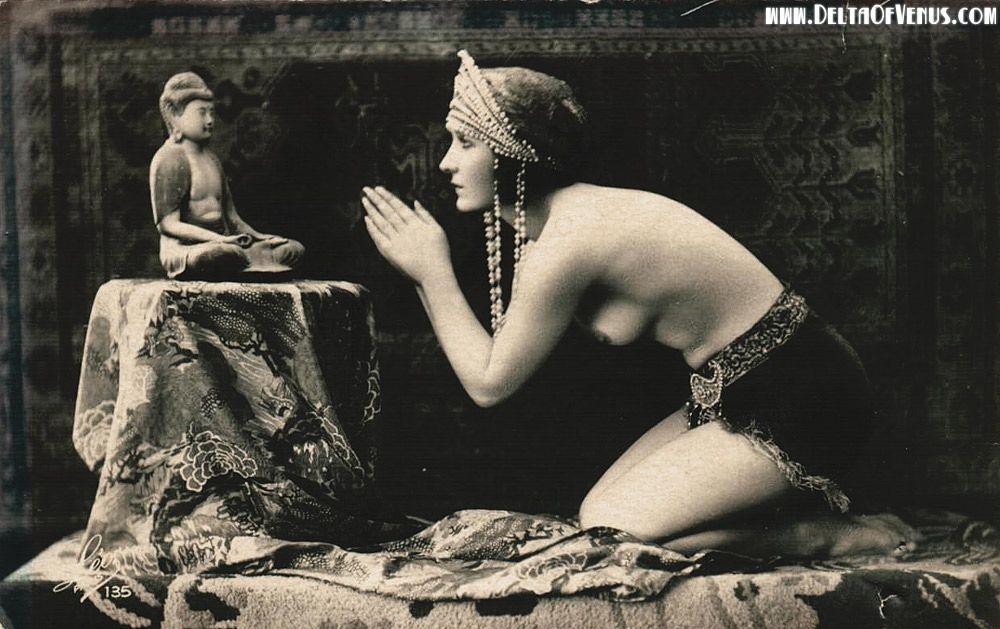 nude girls with buddha photos