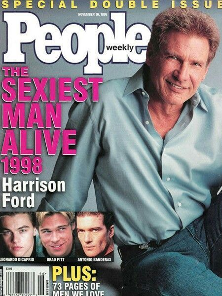 Harrison Ford voted sexiest man al