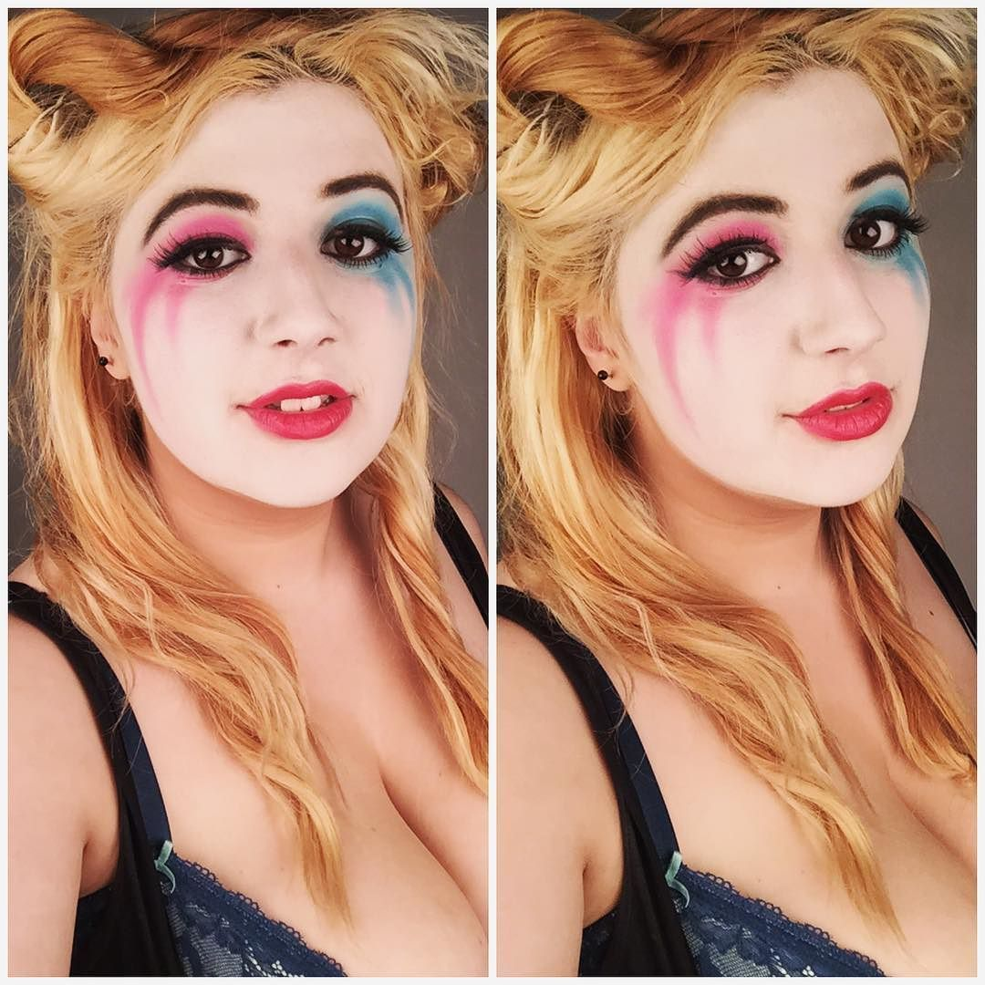Gotta love that post Harley Quinn look!  #cosplay #cosplayer #cosplaymakeup #harleyquinn #harleyquinncosplay