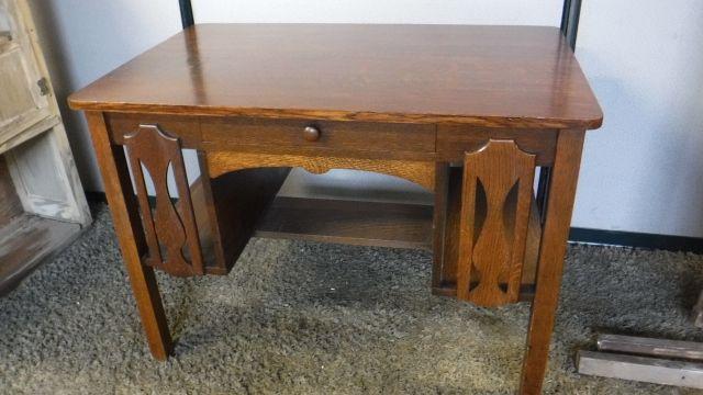 Quarter Sawn Oak Desk