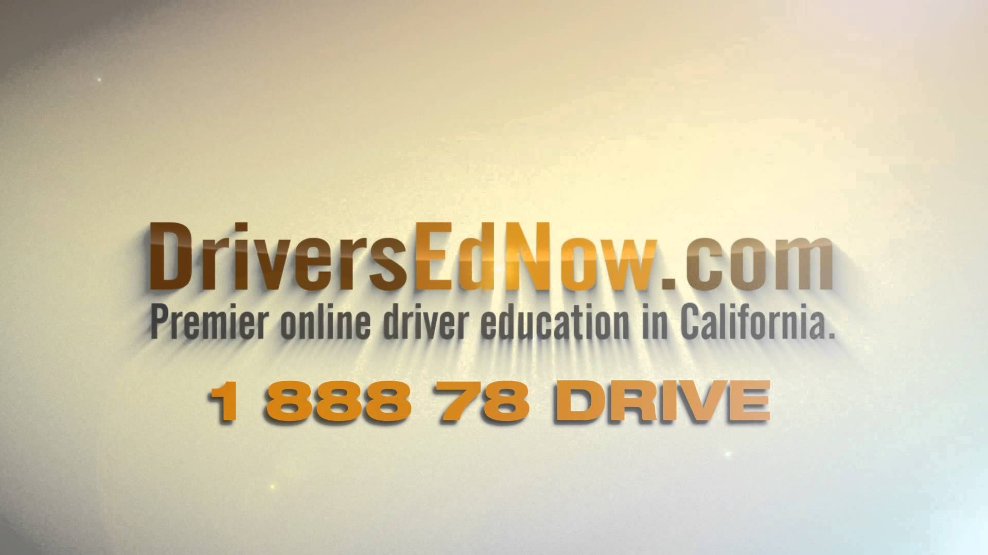 Drivers Education Online In California Youtube Drivers