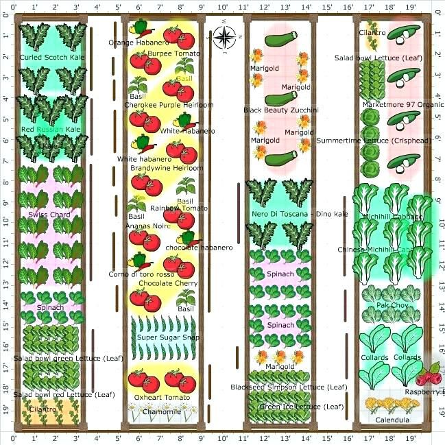 Kitchen Garden Planner: Garden Plot Layouts Vegetable Garden Plot Layout