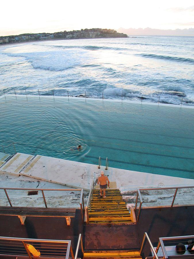 Bondi Icebergs Swimming Club, Bondi Beach, New South Wales ...