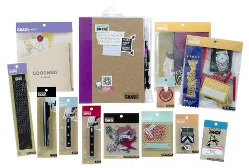 Great deal! on HSN (ends today/all day scrap day) K ... |Smash Folio Journal Kit