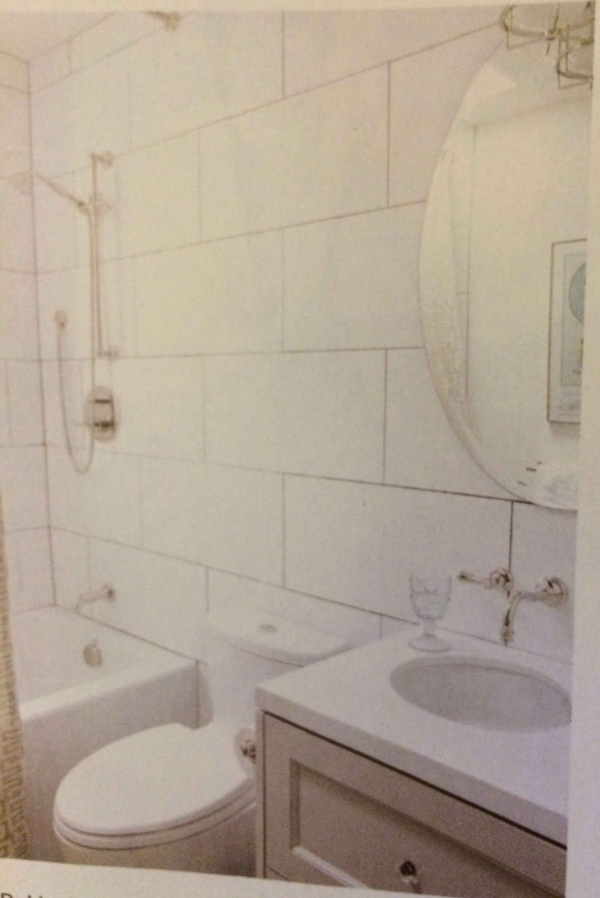 large format subway tile white from canadian house and