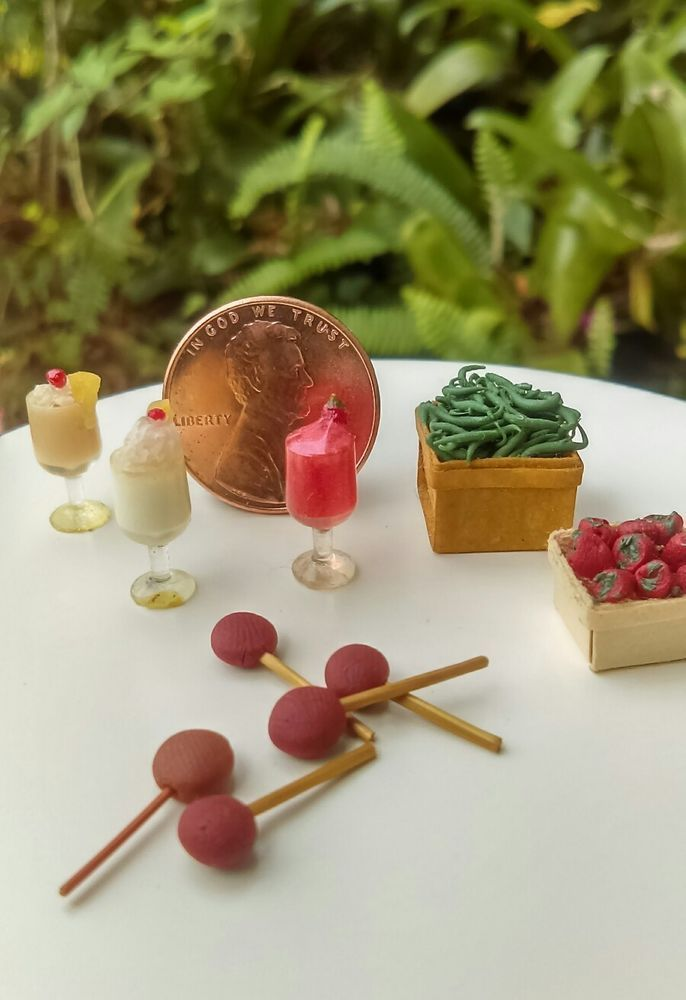 Dollhouse Miniature One Inch Scale mixed Lot   Dolls & Bears, Dollhouse Miniatures, Food & Groceries   eBay!