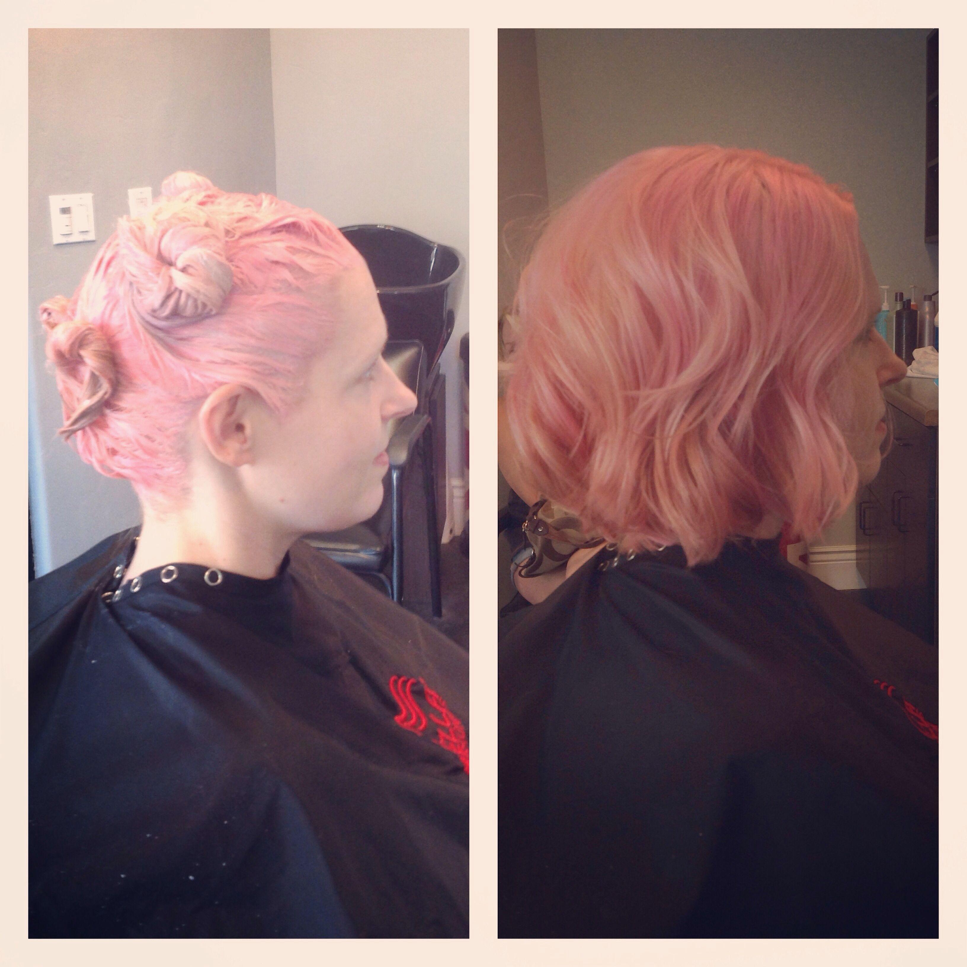 Sonia Garcia Sage Salon Suite 116 559799 7478 Pravana Neon Pink