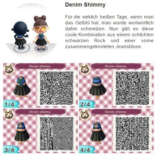 Moderne kleidung animal crossing new leaf