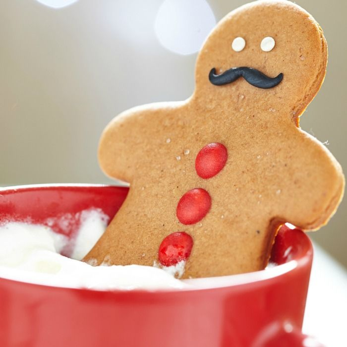 Soft Gingerbread Cookies that Don't Spread