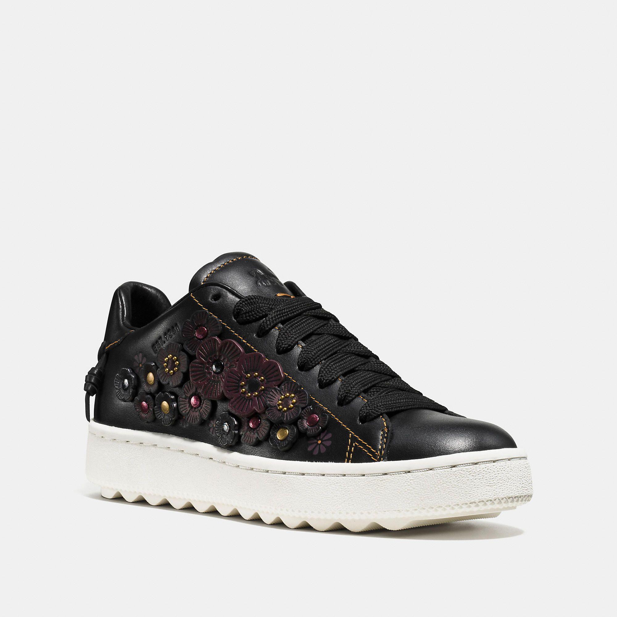 f722e918542547 COACH C101 Low Top Sneaker - Women s Size 6.5 Tennis Shoes ...