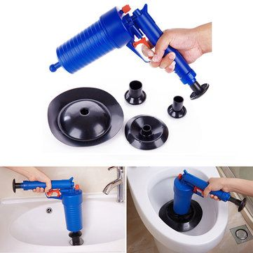 Pressure Pipeline Dredge Device Floor Drain Bathtub Plunger Toilet Inflator Sucker at Banggood