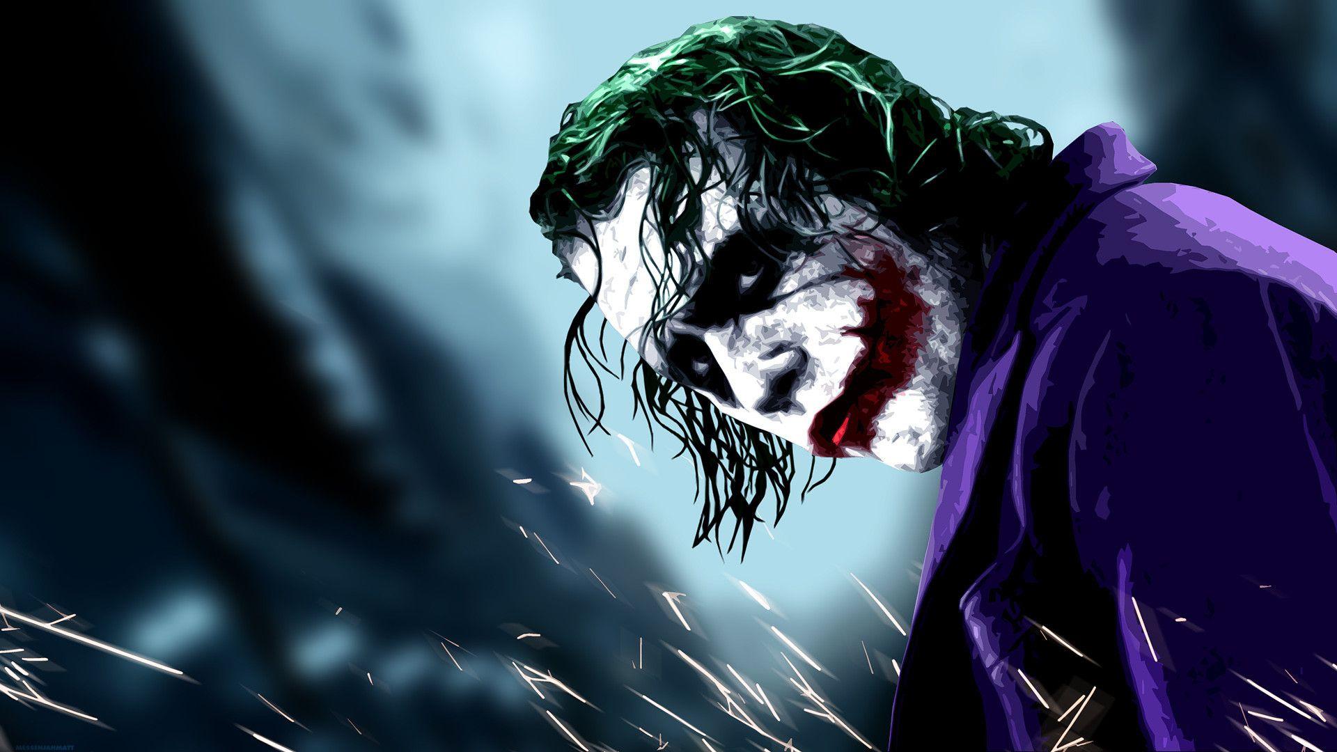 78 Evil Joker Wallpapers On Wallpaperplay Imagenes Del Guason Heath Ledger Joker Arte De Chisisto