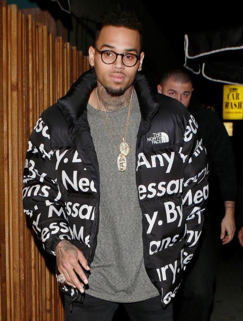 Chrianna Chris Brown Chris Brown And Rihanna North Face Jacket