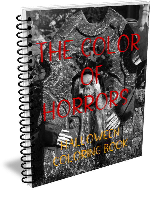 My First Coloring Book. Done just in time for Halloween 20  semi-scary Halloween designs, you bet kid-friendly Check it out #halloweencoloring #kimschob
