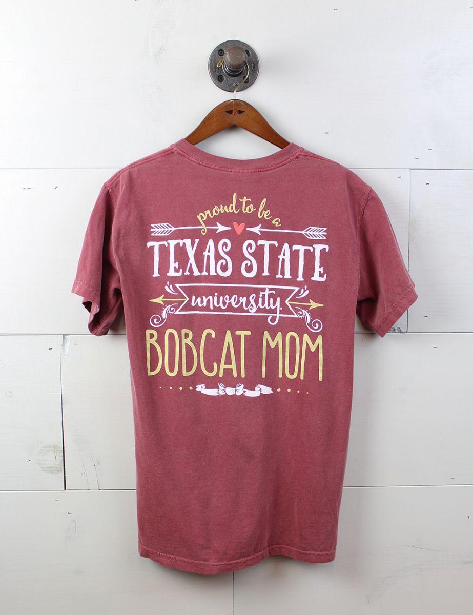 Sport Your Gear Texas State Bobcats Dad Proud Parent T-Shirt