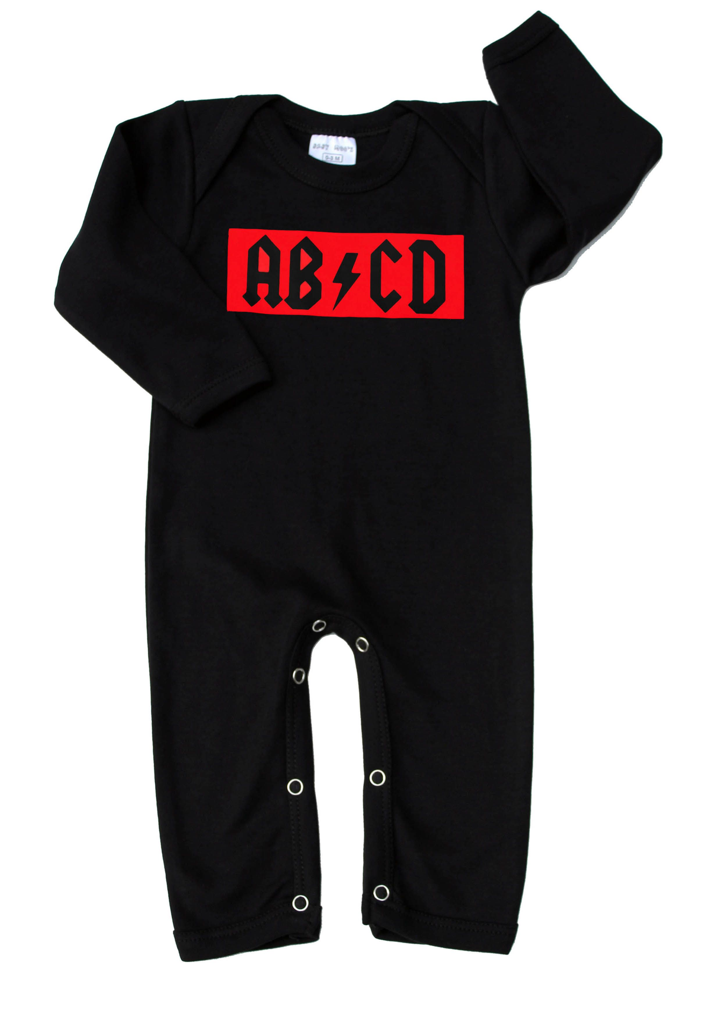 Cool AB/CD Rock Baby Sleepsuit | A well, Rompers and Cool rocks