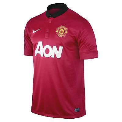 new arrivals 4a9b1 50e54 Nike david beckham manchester united home jersey 2013/14 ...