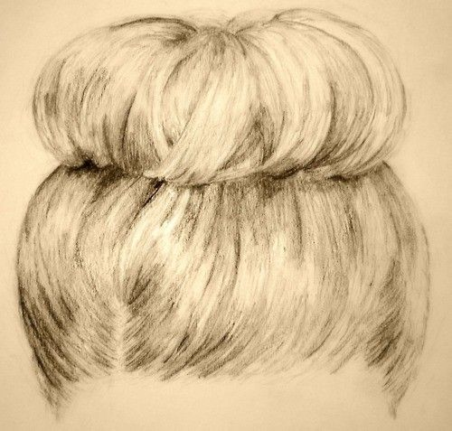art drawing hair hairstyle