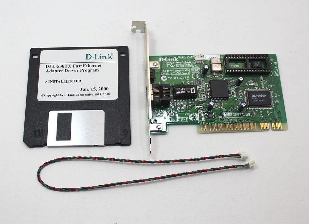 D LINK DFE 530TX PCI FAST ETHERNET ADAPTER TREIBER HERUNTERLADEN