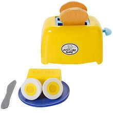 Just Like Home Toaster Playset Yellow Childrens