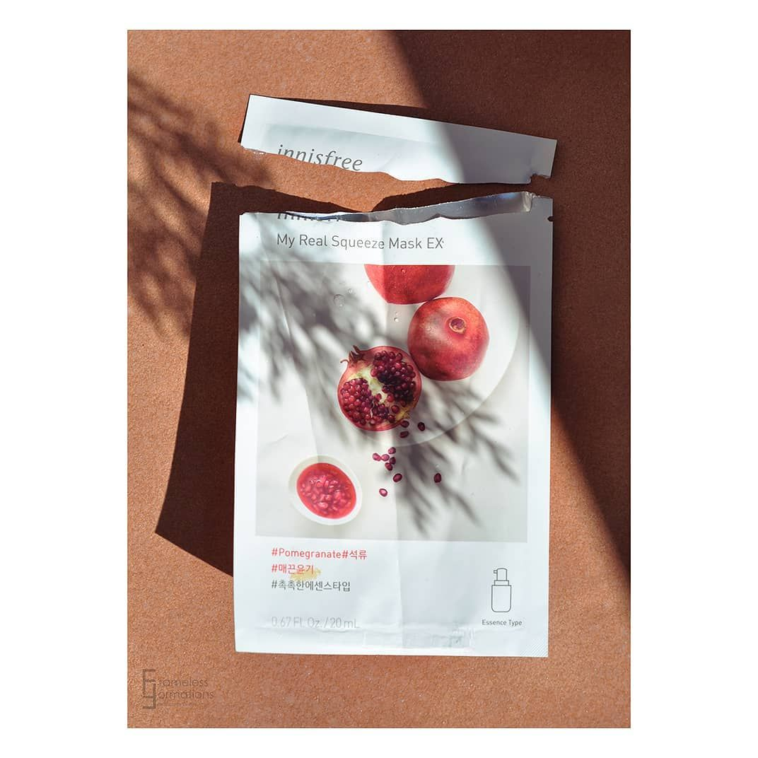 Pin By Shohre On Shahsa Hydrating Mask Pomegranate Innisfree
