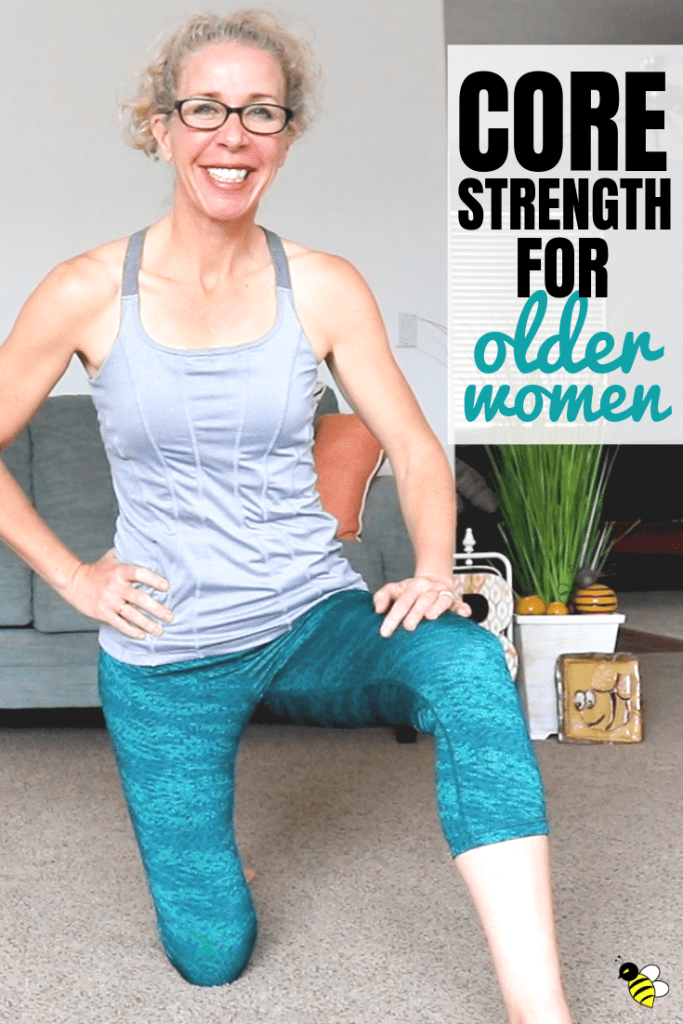 Empowering Core Workout for Older Women #coreworkouts