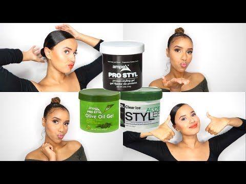 Slay The Best Slicked Looks Using Ampro Styling Gel Youtube Wet Look Hair Styling Gel Hair Tutorial