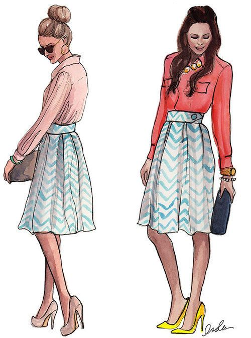 fashion illustration sketch tumblr - Google Search ...