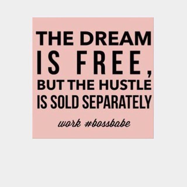 YES! #bossbabe #girlboss #HustleandHeart