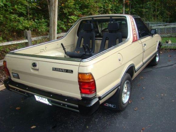 This 1986 Subaru Brat is said to have 75k miles and no rust, and - craigslist kenosha