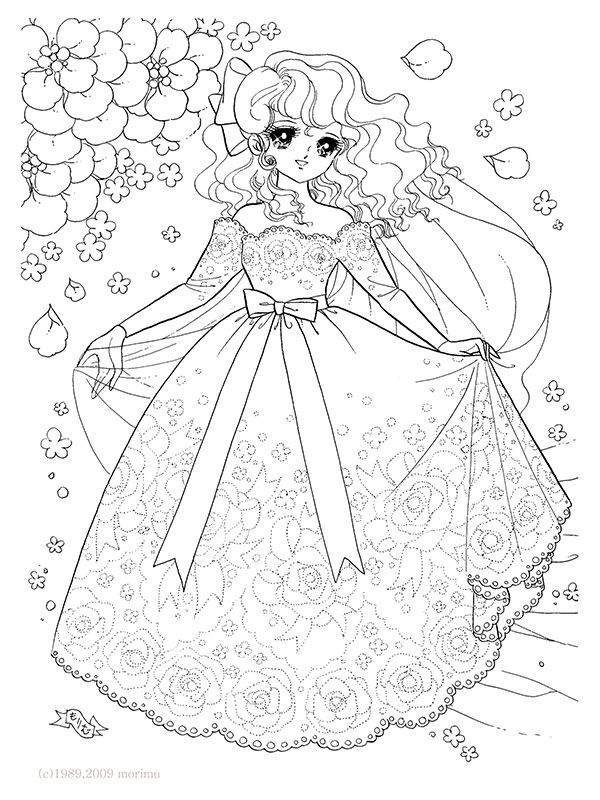 Rose  / Coloring Pages Adult