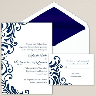 Ever After Wedding Invitation | Wedding Invitation