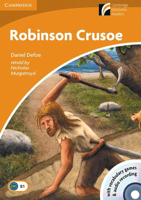 Une adaptation de l'histoire classique d'un jeune homme qui fait naufrage sur une île. Robinson Crusoe finit par rencontrer Vendredi sur l'île et leur amitié les aidera à revenir en Angleterre, pays que notre hérosl a quitté jeune homme, presque trente ans plus tôt.Le livre est accompagné d'un CD audio avec des jeux de vocabulaire et l'enregistrement intégral du texte.