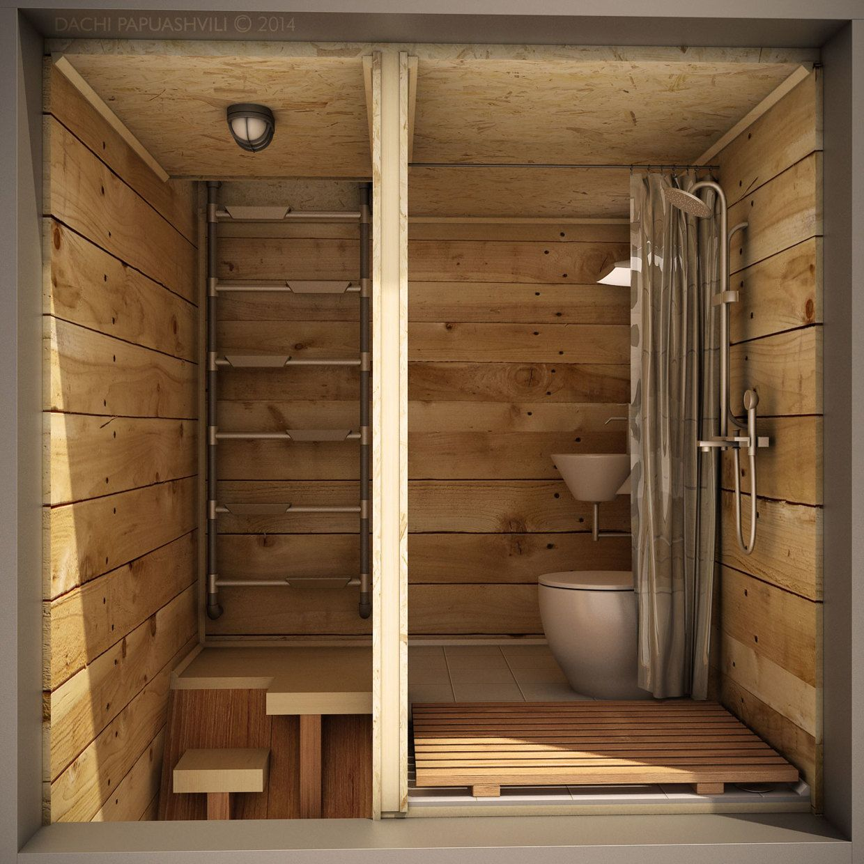 Dachi Papuahvili S Micro Shipping Container Home Mit Bildern Container Hauser Micro Haus Aussentoilette