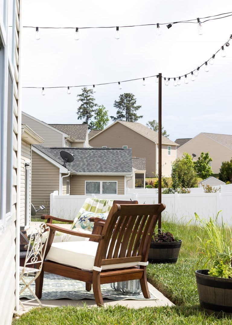 How to Decorate a Small Patio | Small patio ideas ... on Small Townhouse Backyard Patio Ideas id=34681