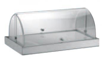 Vetrina refrigerata rettangolare Square con coperchio - Vetrine da banco…
