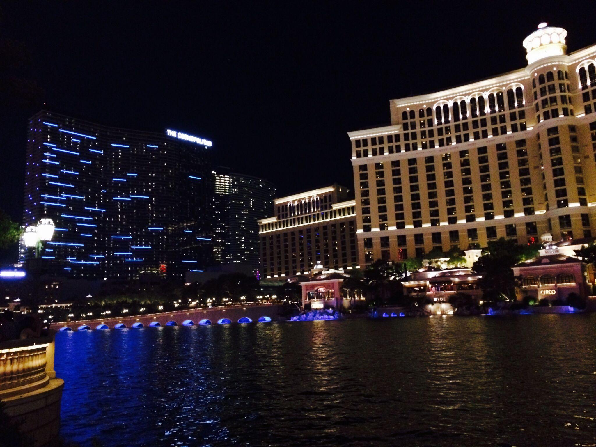 Bellagio and Cosmopolitan in Las Vegas
