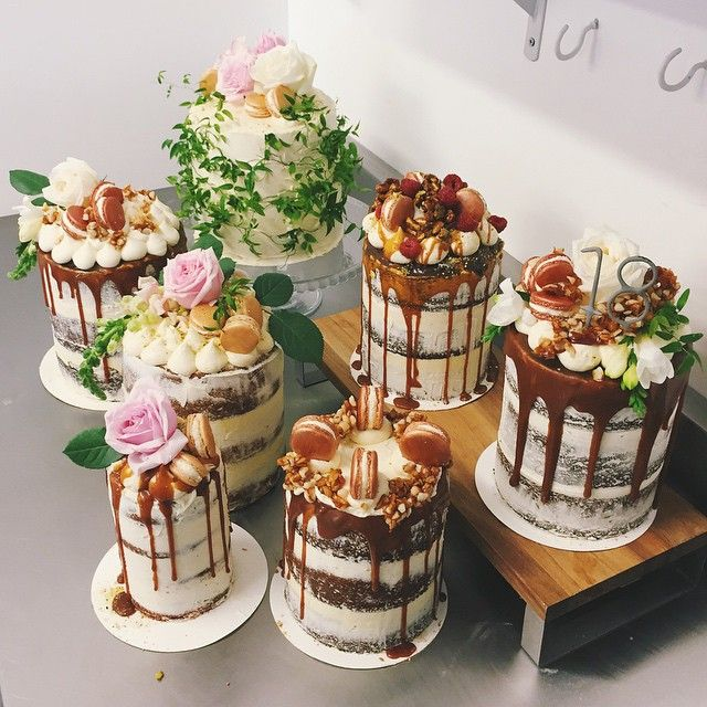 Indulgence Wedding cake - Two tier, extended height cake