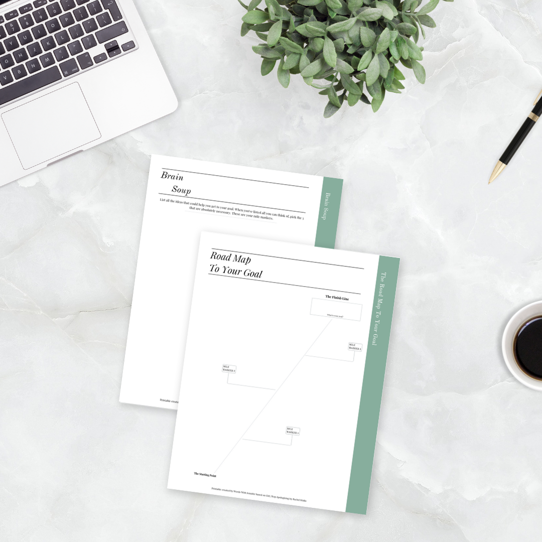 Free Printable Goal Setting Worksheets To Go With Girl