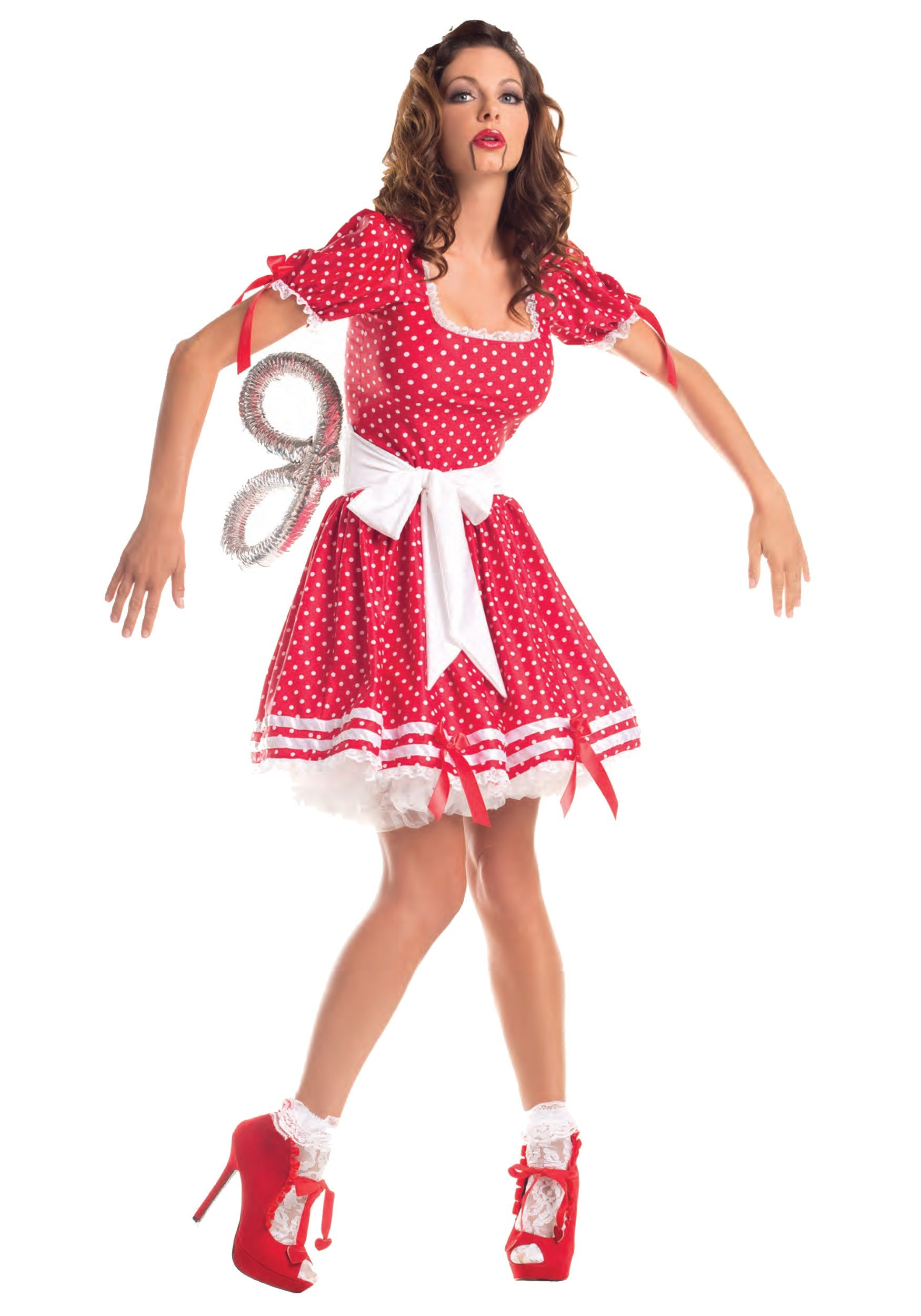 adult wind up doll costume halloween costume - How To Make A Doll Costume For Halloween