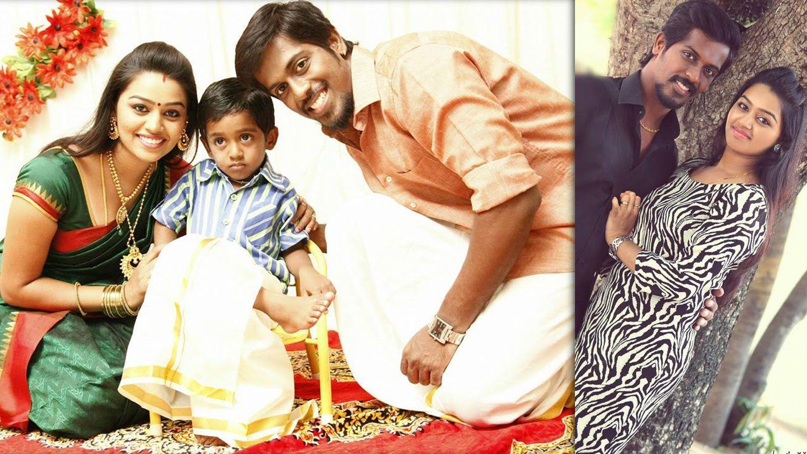 Serial Actress Gayathri Yuvaraj Family Photos Ponnunjal Saravanan Meenat